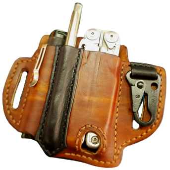 EDC Custom Leather Build Your Own Pouch